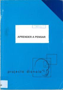 """Capa do livro """"Aprender a Pensar"""". Organizadores: Valente, M. O. et al"""