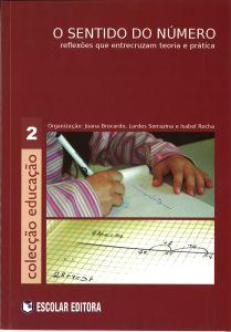 """Capa do livro """"O sentido do número: Reflexões que intercruzam teoria e prática"""". Organizadores: Joana Brocardo, Lurdes Serrazina e Isabel Rocha"""