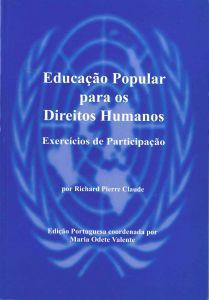 """Capa do livro """"Educação Popular para os Direitos Humanos: 24 Exercícios de Participação""""."""