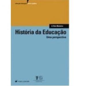 """Capa do livro """"História da Educação: Uma Perspectiva"""", de Agostinho dos Reis Monteiro"""
