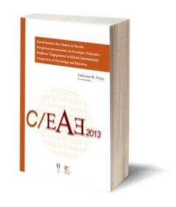 "Capa do E-Book ""Envolvimento dos Alunos na Escola: Perspetivas Internacionais da Psicologia e Educação / Students' Engagement in School: International Perspectives of Psychology and Education"", de Feliciano H. Veiga (Coord.)"