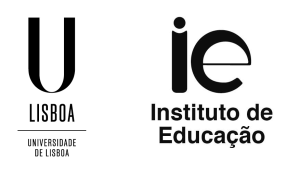 IE - Logótipo vertical preto