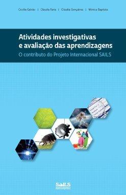 """Capa do livro """"Atividades investigativas e avaliação das aprendizagens"""""""