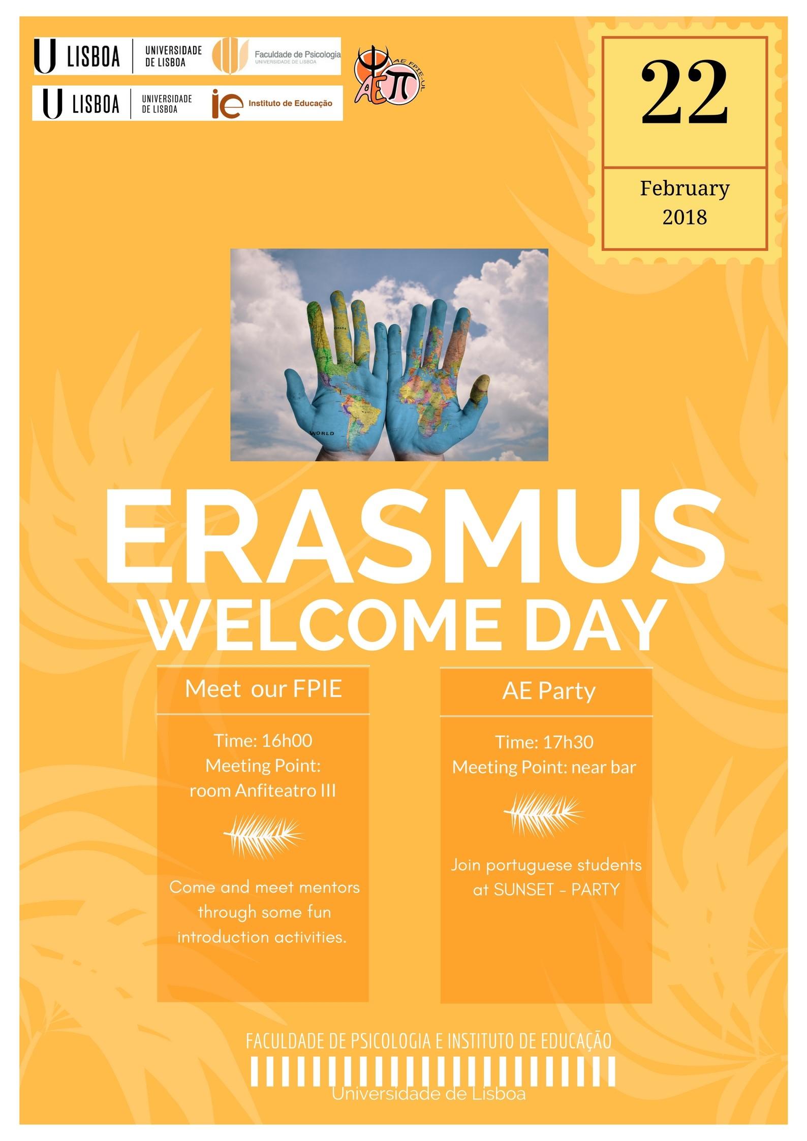 cartaz-Erasmus-welcome-day_2018