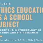Ethics Education as a School Subject