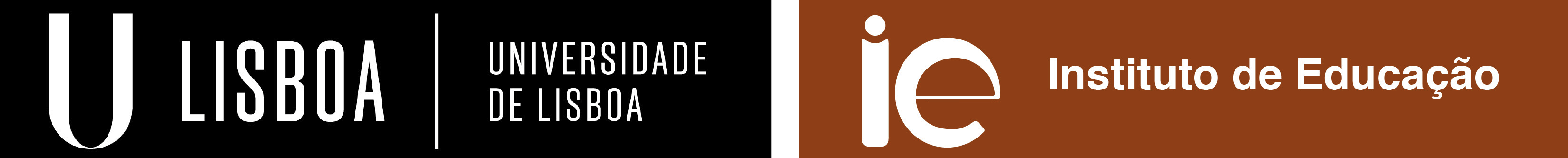 IE - Logótipo negativo horizontal