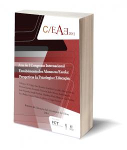 Capa E-Book Atas CIEAE - I Congresso Internacional Envolvimento dos Alunos na Escola: Perspetivas da Psicologia e Educação