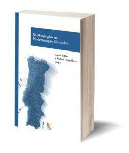 """Capa do E-Book """"Os Municípios na Modernização Educativa"""""""