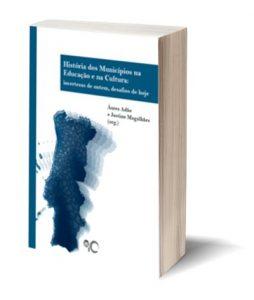 """Capa do E-Book """"Os Municípios na Modernização Educativa"""", de Áurea Adão e Justino Magalhães (org.)"""