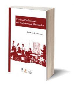 """Capa do E-Book """"Práticas Profissionais dos Professores de Matemática"""", de João Pedro da Ponte (org.)"""