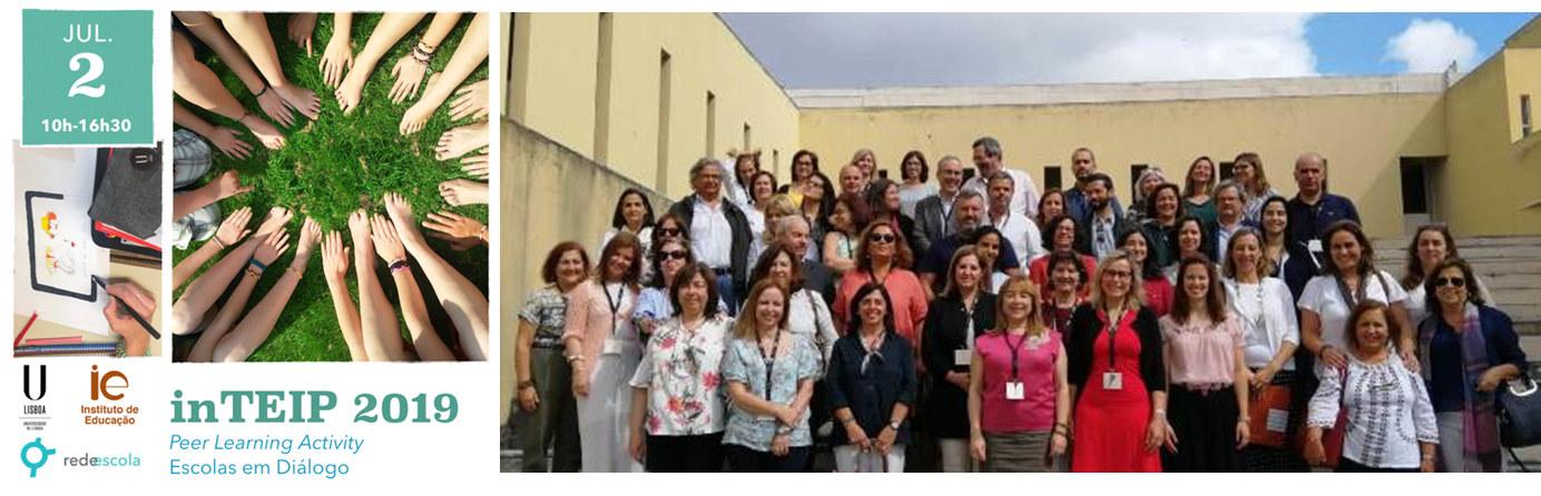 inteip 2019: encontro com Escolas TEIP
