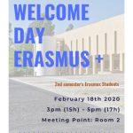 Erasmus – Welcome Day