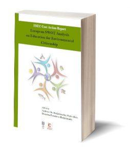 "Capa do ebook ""European SWOT Analysis on Education for Environmental Citizenship"""