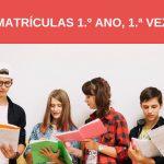 Matrículas do 1.º ano, 1.ª vez – Licenciatura